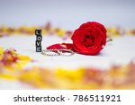 valentines day gift of two... | Shutterstock . vector #786511921