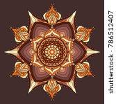 mandala  vector mandala.... | Shutterstock .eps vector #786512407