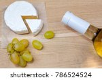 Camembert Cheese  Grapes And...