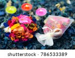 potpourri is a mixture of dried ... | Shutterstock . vector #786533389