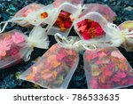 potpourri is a mixture of dried ... | Shutterstock . vector #786533635
