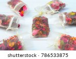 potpourri is a mixture of dried ... | Shutterstock . vector #786533875