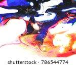 abstract art background....   Shutterstock . vector #786544774