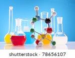 chemistry equipment  laboratory ... | Shutterstock . vector #78656107