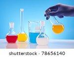 chemistry equipment  laboratory ... | Shutterstock . vector #78656140
