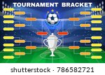 football tournament banner.... | Shutterstock .eps vector #786582721