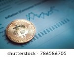 bitcoin btc the new virtual...   Shutterstock . vector #786586705