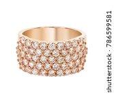 diamonds wedding eternity band... | Shutterstock . vector #786599581
