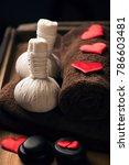 valentine day. wellness... | Shutterstock . vector #786603481