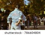 tokyo  japan   november 12 ... | Shutterstock . vector #786604804