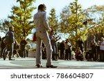 tokyo  japan   november 12 ... | Shutterstock . vector #786604807