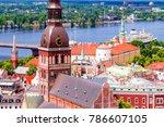 dome cathedral in riga  latvia | Shutterstock . vector #786607105