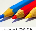 pencil colorful isolated | Shutterstock . vector #786613954