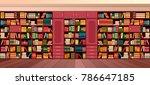 vector illustration library... | Shutterstock .eps vector #786647185