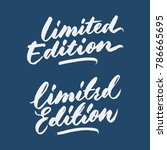 """limited edition"" marketing... 