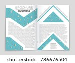 abstract vector layout... | Shutterstock .eps vector #786676504