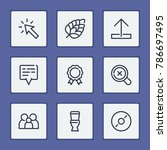 location mark icon with upload  ...   Shutterstock .eps vector #786697495