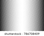 halftone background. distressed ... | Shutterstock .eps vector #786708409