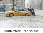 new york  ny   january 4  2018  ... | Shutterstock . vector #786720559