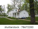 john h stevens house and yard...   Shutterstock . vector #78672283