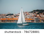 lisbon  portugal   june 1  2016 ... | Shutterstock . vector #786728881