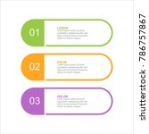 infographic design template... | Shutterstock .eps vector #786757867