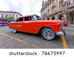 Havana June 2 Old Chevrolet...