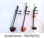 fiddle is a thai musical... | Shutterstock . vector #786780721
