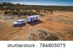 aerial view of four wheel drive ... | Shutterstock . vector #786805075