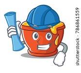architect honey character... | Shutterstock .eps vector #786861559