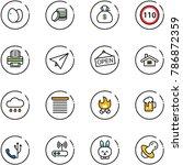line vector icon set   eggs...