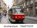 prague  czech republic   june...   Shutterstock . vector #786879259