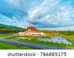 ho kham luang  royal pavilion ... | Shutterstock . vector #786885175