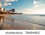 City Beach. Israel. Bat Yam...
