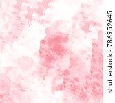 red watercolor mottled... | Shutterstock .eps vector #786952645