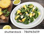 close up of healthy delicious...   Shutterstock . vector #786965659