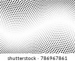 abstract halftone wave dotted... | Shutterstock .eps vector #786967861