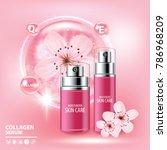 sukura   cherry blossom...   Shutterstock .eps vector #786968209
