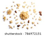pine nuts  pignoli  seeds of... | Shutterstock . vector #786972151