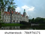 Stock photo traveling in hannover germany 786976171