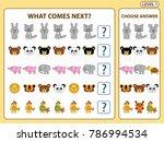 set of tasks for the... | Shutterstock .eps vector #786994534