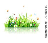 summer green meadow for your... | Shutterstock .eps vector #78700111