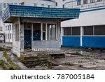Blue And White Desolate Soviet...
