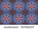 colour spring theme seamless... | Shutterstock . vector #787006237