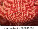 made baskets shop.there are... | Shutterstock . vector #787015855