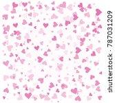 valentine's day background.... | Shutterstock .eps vector #787031209