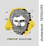 creative modern classical... | Shutterstock .eps vector #787031395