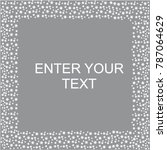 frames for greeting card  vector | Shutterstock .eps vector #787064629