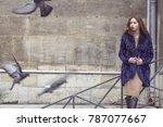 street fashion concept....   Shutterstock . vector #787077667