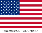 usa flag unated states of... | Shutterstock .eps vector #787078627